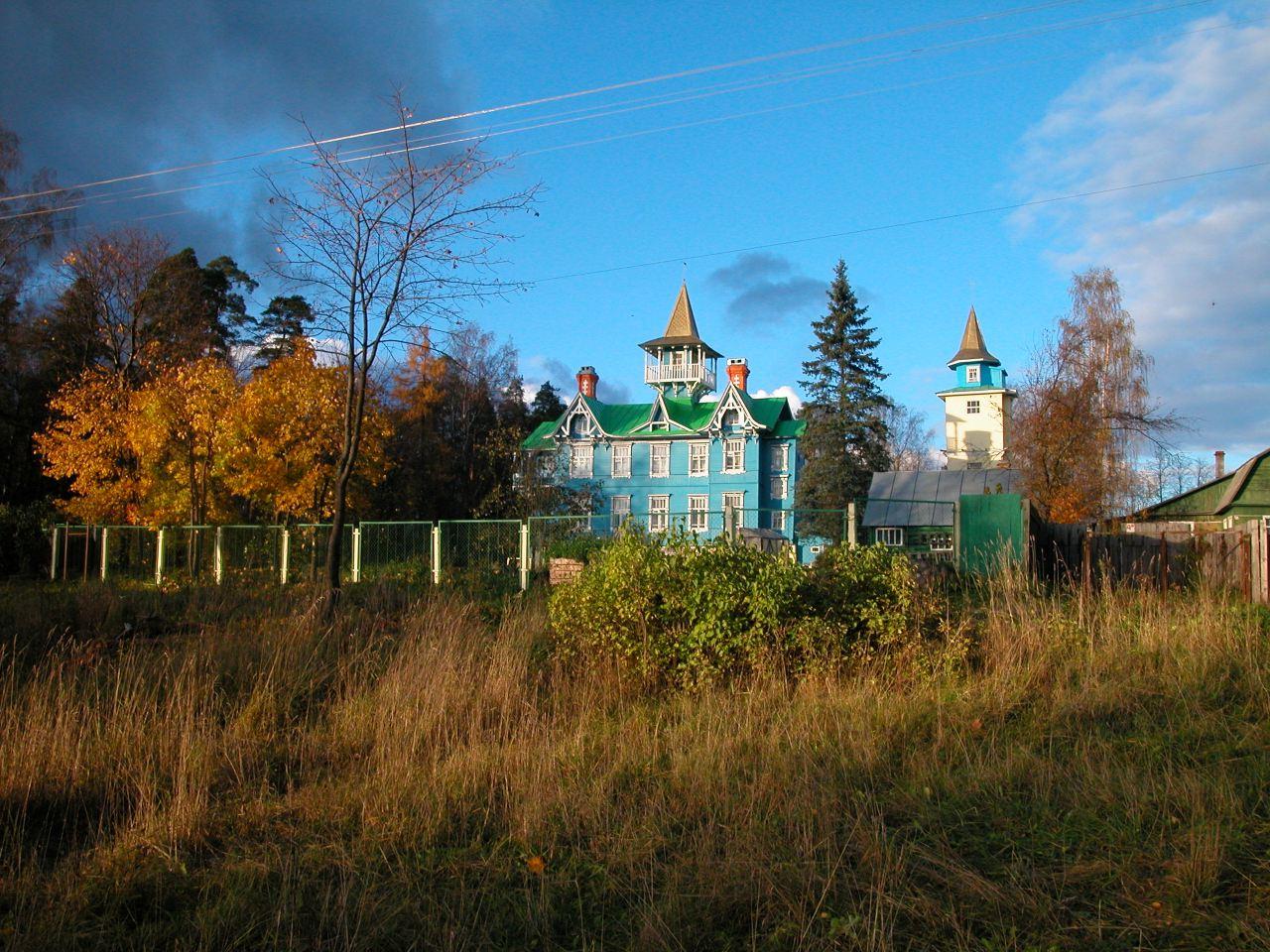 Зеленый пояс москвы 8